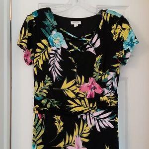 Westport Maxi Dress Black Floral